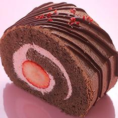チョコロール in いちご