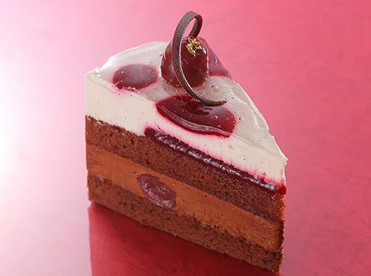 チェリーとショコラのビターケーキ