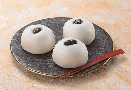 季節薯蕷まんじゅう~黒豆