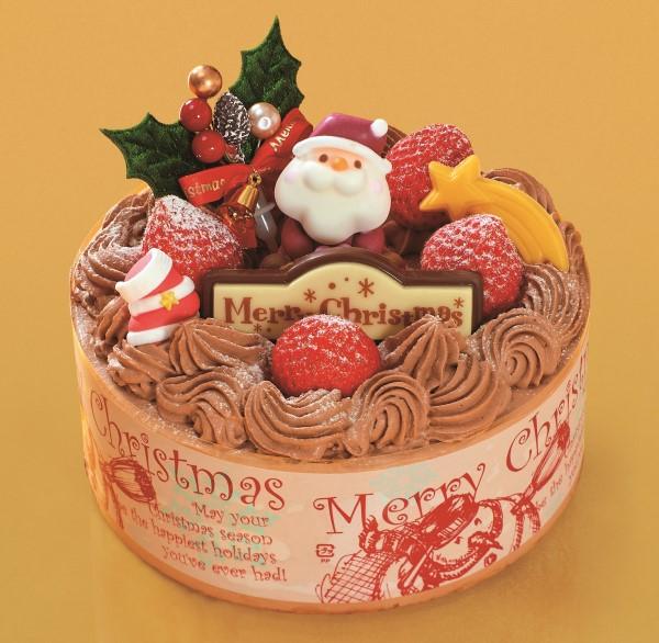 クリスマスチョコ生デコレーション